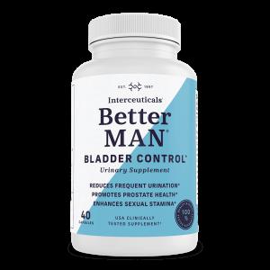 BetterMAN Bladder Control Urinary Health Supplement for Men