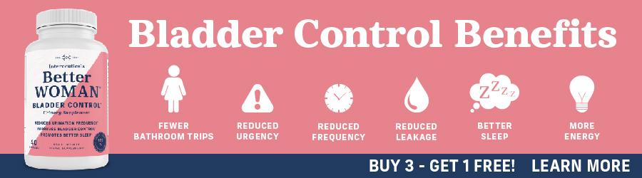 BetterWoman Bladder Control Supplement